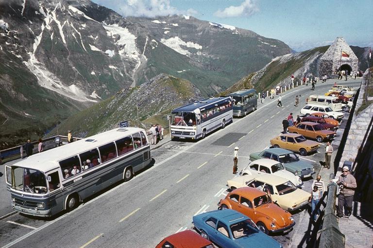 Austria Mercedes Benz buses 1970s